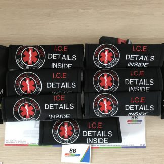 Medical Alert Seat Belt Cover Pad